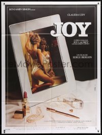 1c704 JOY French 1p 1983 French Canadian sex, sexy Claudia Udy in mirror!
