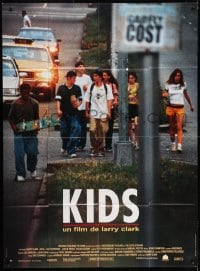 1c707 KIDS French 1p 1995 written by Harmony Korine, directed by Larry Clark, teen AIDS!
