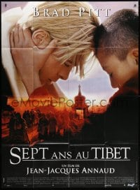 1c887 SEVEN YEARS IN TIBET French 1p 1997 Brad Pitt as Harrer, directed by Jean-Jacques Annaud