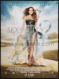 1c888 SEX & THE CITY 2 advance French 1p 2010 full-length image of glamorous Sarah Jessica Parker!