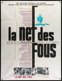 1c892 SHIP OF FOOLS French 1p 1965 Stanley Kramer's movie based on Katharine Anne Porter's book!