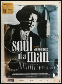 1c904 SOUL OF A MAN French 1p 2003 Wim Wenders, The Blues, great image of blues singer with guitar!