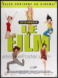 1c908 SPICE WORLD French 1p 1998 Spice Girls, Victoria Beckham, English pop music, different image!