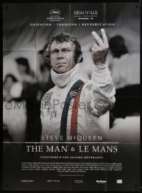 1c918 STEVE MCQUEEN THE MAN & LE MANS French 1p 2015 documentary about his car racing obsession!