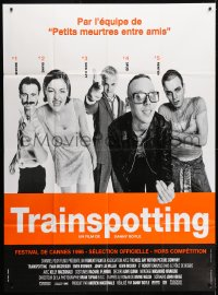 1c953 TRAINSPOTTING French 1p 1996 heroin drug addict Ewan McGregor, directed by Danny Boyle!