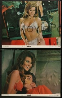 1d049 BEDAZZLED 8 color 11x14 stills 1968 classic fantasy, Dudley Moore & sexy Raquel Welch as Lust