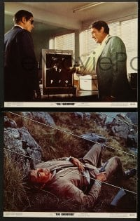 1d080 CHAIRMAN 8 color 11x14 stills 1969 Intelligence can't keep Gregory Peck alive much longer!