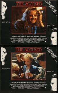 1d024 ACCUSED 8 LCs 1988 Jodie Foster, Kelly McGillis, the case that changed and shocked a nation!