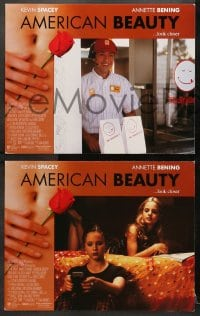 1d032 AMERICAN BEAUTY 8 LCs 1999 Sam Mendes Academy Award winner, Kevin Spacey, Annette Benning!