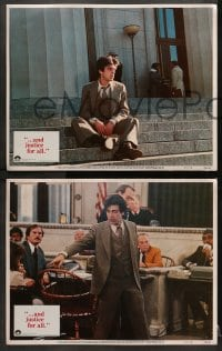 1d034 AND JUSTICE FOR ALL 8 LCs 1979 directed by Norman Jewison, Al Pacino is out of order!