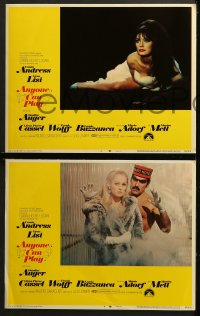 1d038 ANYONE CAN PLAY 8 LCs 1968 sexy Claudine Auger, Ursula Andress, Virna Lisi, Marisa Mell