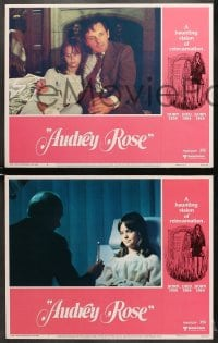 1d040 AUDREY ROSE 8 LCs 1977 Susan Swift, Anthony Hopkins, a haunting vision of reincarnation!