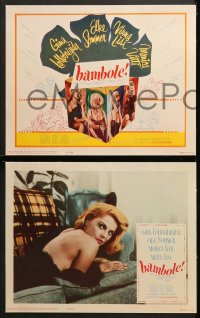 1d043 BAMBOLE 8 int'l LCs 1965 Le Bambole, great images of sexiest Virna Lisi!