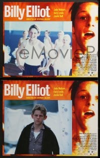 1d055 BILLY ELLIOT 8 LCs 2000 Jamie Bell, Julie Walters, the boy just wants to dance!