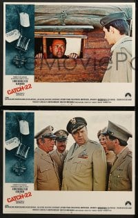 1d079 CATCH 22 8 int'l LCs 1970 Alan Arkin, Orson Welles, Anthony Perkins, directed by Mike Nichols!