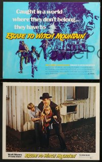 1d015 ESCAPE TO WITCH MOUNTAIN 9 LCs 1975 Disney, Eddie Albert, Ray Milland, Donald Pleasance!