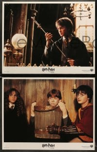 1d004 HARRY POTTER & THE CHAMBER OF SECRETS 11 LCs 2002 Daniel Radcliffe, Emma Watson, Grint