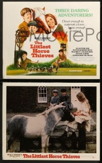 1d017 LITTLEST HORSE THIEVES 9 LCs 1977 clever enough to outsmart a town & brave enough to save it!
