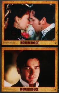 1d202 MOULIN ROUGE 8 LCs 2001 wonderful images of sexy Nicole Kidman & Ewan McGregor!