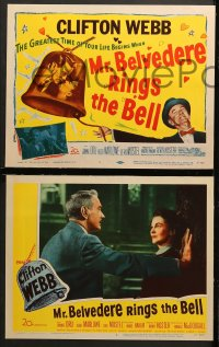 1d203 MR. BELVEDERE RINGS THE BELL 8 LCs 1951 Clifton Webb in the title role, Joanne Dru!