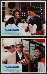 1d207 MY FAVORITE YEAR 8 LCs 1982 cool images of Peter O'Toole & Mark Linn-Baker, Jessica Harper!