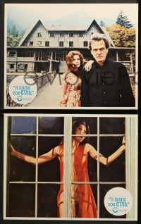 1d210 NAME FOR EVIL 8 LCs 1973 sexy Samantha Eggar in the dream house that becomes a nightmare!