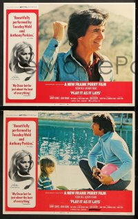 1d228 PLAY IT AS IT LAYS 8 LCs 1972 Tuesday Weld, Anthony Perkins, Frank Perry directed!
