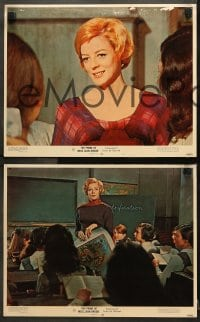 1d235 PRIME OF MISS JEAN BRODIE 8 LCs 1969 Maggie Smith, sexiest Pamela Franklin!