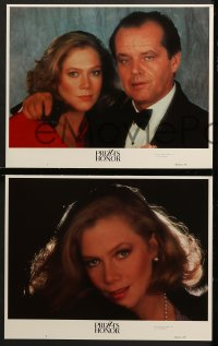 1d236 PRIZZI'S HONOR 8 LCs 1985 Jack Nicholson & Kathleen Turner, directed by John Huston!