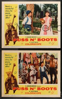 1d240 PUSS 'N BOOTS 8 LCs 1963 Mexican fantasy, it's loaded with action & excitement!