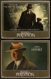 1d005 ROAD TO PERDITION 11 LCs 2002 directed by Sam Mendes, Tom Hanks, Paul Newman, Jude Law!