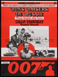 1f013 FROM RUSSIA WITH LOVE Swiss R1970s Sean Connery is the unkillable James Bond 007, different!