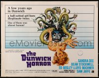 1p059 DUNWICH HORROR 1/2sh 1970 AIP horror, sexy Sandra Dee in Lovecraft's tale of terror!