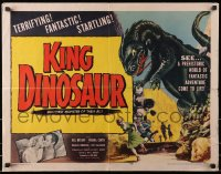 1p070 KING DINOSAUR 1/2sh 1955 artwork of the mightiest prehistoric monster of all, startling!