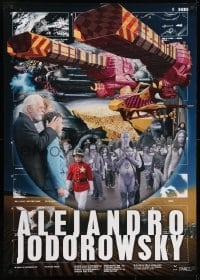 1p237 ALEJANDRO JODOROWSKY Japanese 29x41 2010s cool images from his movies including his Dune!