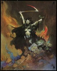 1p039 FRANK FRAZETTA 16x20 art print 1970 incredible fantasy art of sexy Banshee by the artist!