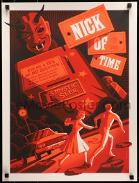 1p015 TWILIGHT ZONE #218/230 18x24 art print 2015 Nick of Time, Tom Whalen art, standard edition!