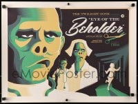 1p014 TWILIGHT ZONE #159/230 18x24 art print 2014 Eye of the Beholder, Tom Whalen, standard edition!