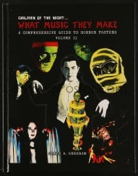 1r024 CHILDREN OF THE NIGHT: WHAT MUSIC THEY MAKE vol 2 hardcover book 2018 guide to horror posters!