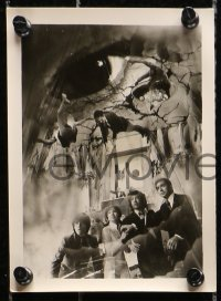 1r030 ESPY group of 5 Japanese 5x7 stills 1974 Jun Kukuda's Esupai, Hiroshi Fujioka, cool sci-fi!