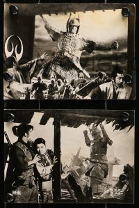 1r031 HIDEOUS IDOL MAJIN group of 5 Japanese 5x6 stills 1968 Daimajin, giant stone statue monster!