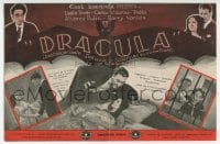 1r037 DRACULA Spanish herald 1931 Carlos Villarias, filmed at night on the same sets as Lugosi's!