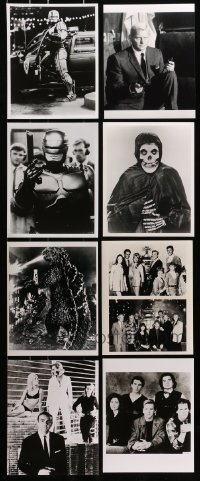 1s994 LOT OF 8 SCI-FI/ACTION 8X10 REPRO PHOTOS 1980s Robocop, Godzilla, Lost in Space & more!