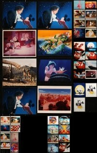 1s979 LOT OF 51 WALT DISNEY CARTOON COLOR 8X10 REPRO PHOTOS 1990s-2000s great animation images!