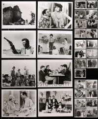 1s983 LOT OF 31 8X10 REPRO PHOTOS 1980s great scenes from a variety of classic movies!