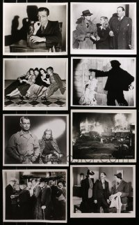 1s987 LOT OF 14 8X10 REPRO PHOTOS 1980s great scenes from a variety of classic movies!