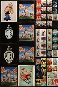 1s976 LOT OF 55 COLOR CARTOON 8X10 REPRO PHOTOS 1980s a variety of great animation images!
