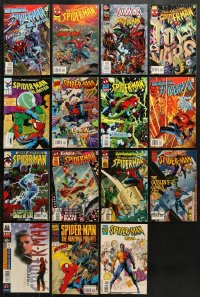 1s097 LOT OF 15 SPIDER-MAN COMIC BOOKS 1990s Unlimited, 2099, Untold Tales & more!