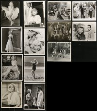1s988 LOT OF 13 MARILYN MONROE REPRO 8X10 STILLS 1980s portraits of the beautiful star!