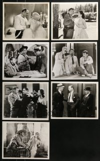 1s998 LOT OF 7 WALLACE BEERY REPRO 8X10 STILLS 1980s great scenes from several of his movies!